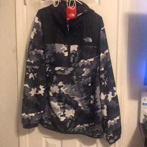 NWT North Face Camo Shirt Jacket